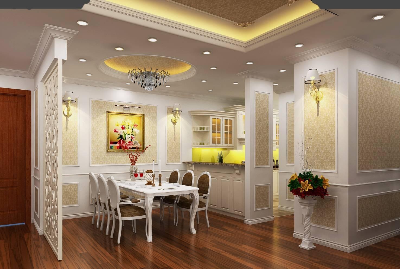 Thiết kế thi công nội thất nhà bếp biệt thự 3