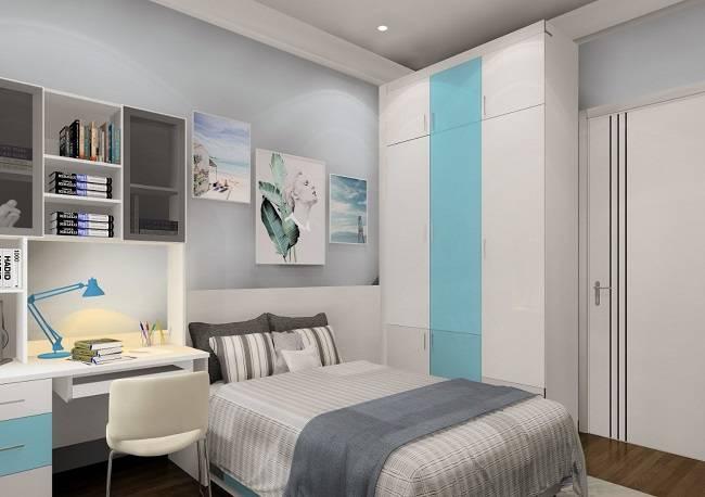 Thiết kế thi công nội thất phòng ngủ bé trai